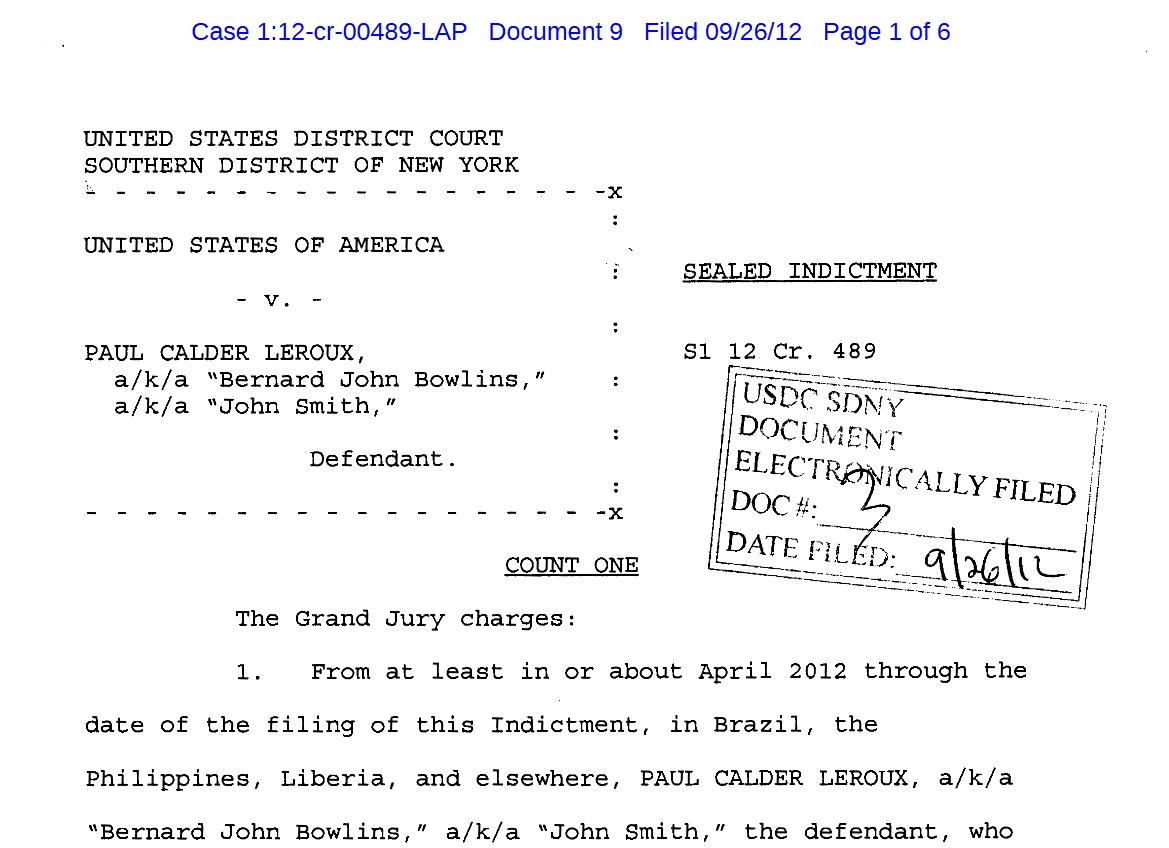 کیفرخواست علیه پاول لرو – فایل پی دی افزمان تقریبی مطالعه: ۱ دقیقه