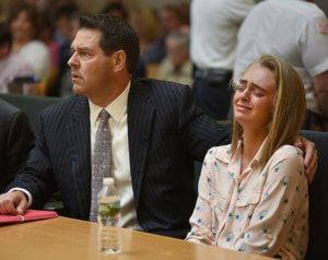 میشل کارتر و جوزف کتلدو در دادگاه