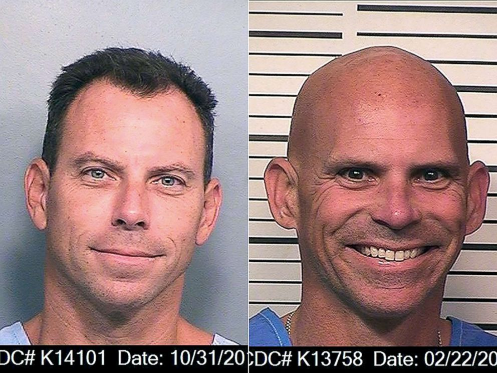 PHOTO: In this Oct. 31, 2016 photo provided by the California Department of Corrections and Rehabilitation is Erik Menendez | In this Feb. 22, 2018 photo provided by the California Department of Corrections and Rehabilitation is Lyle Menendez.