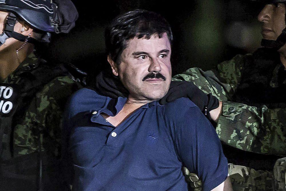 الچاپو در تمامی موارد اتهامی گناهکار شناخته شدزمان تقریبی مطالعه: ۲ دقیقه