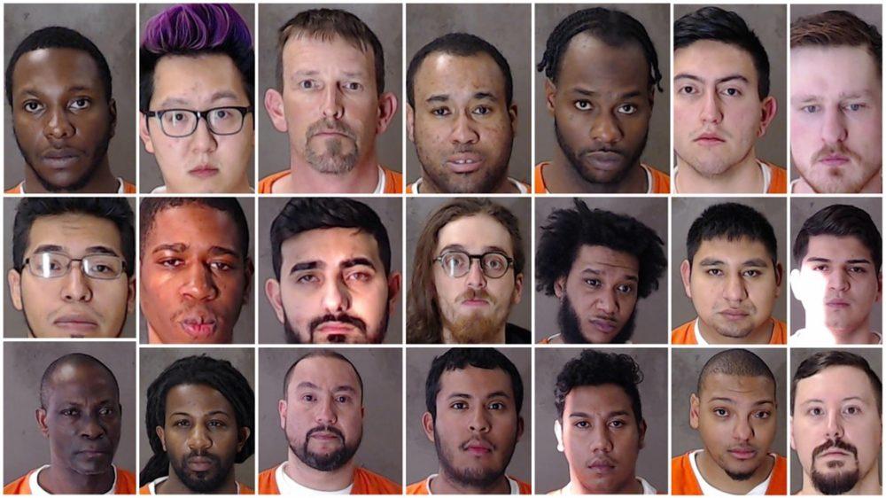 بازداشت ۱۶۹ نفر، قاچاق جنسی