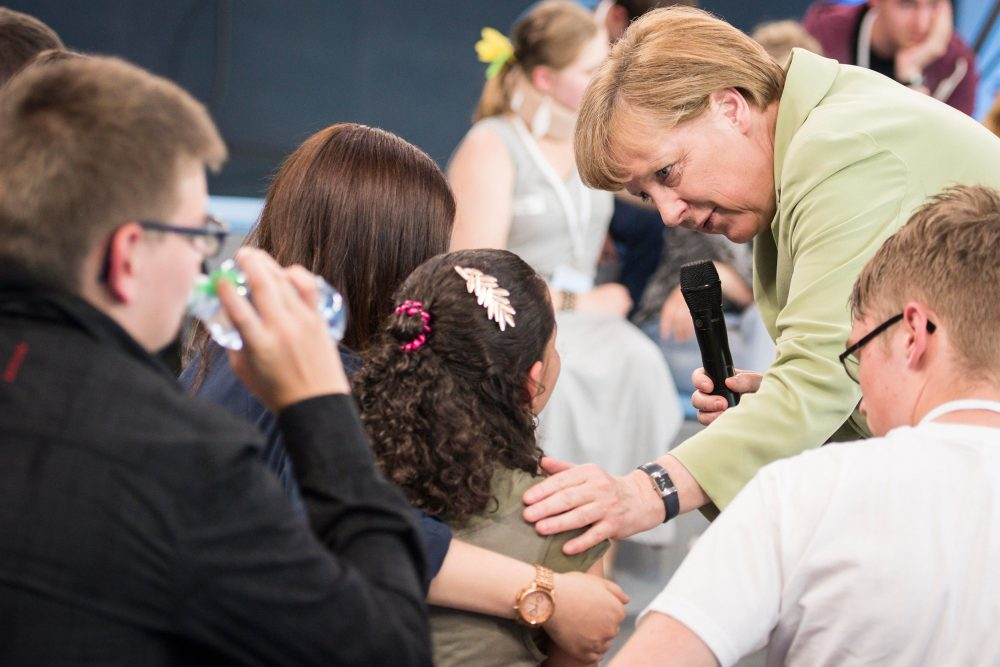 Angela Merkel Rostock Reem