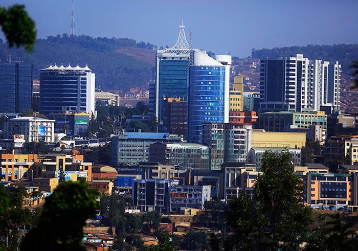 Kigali City Centers View Sam Ngendahimana