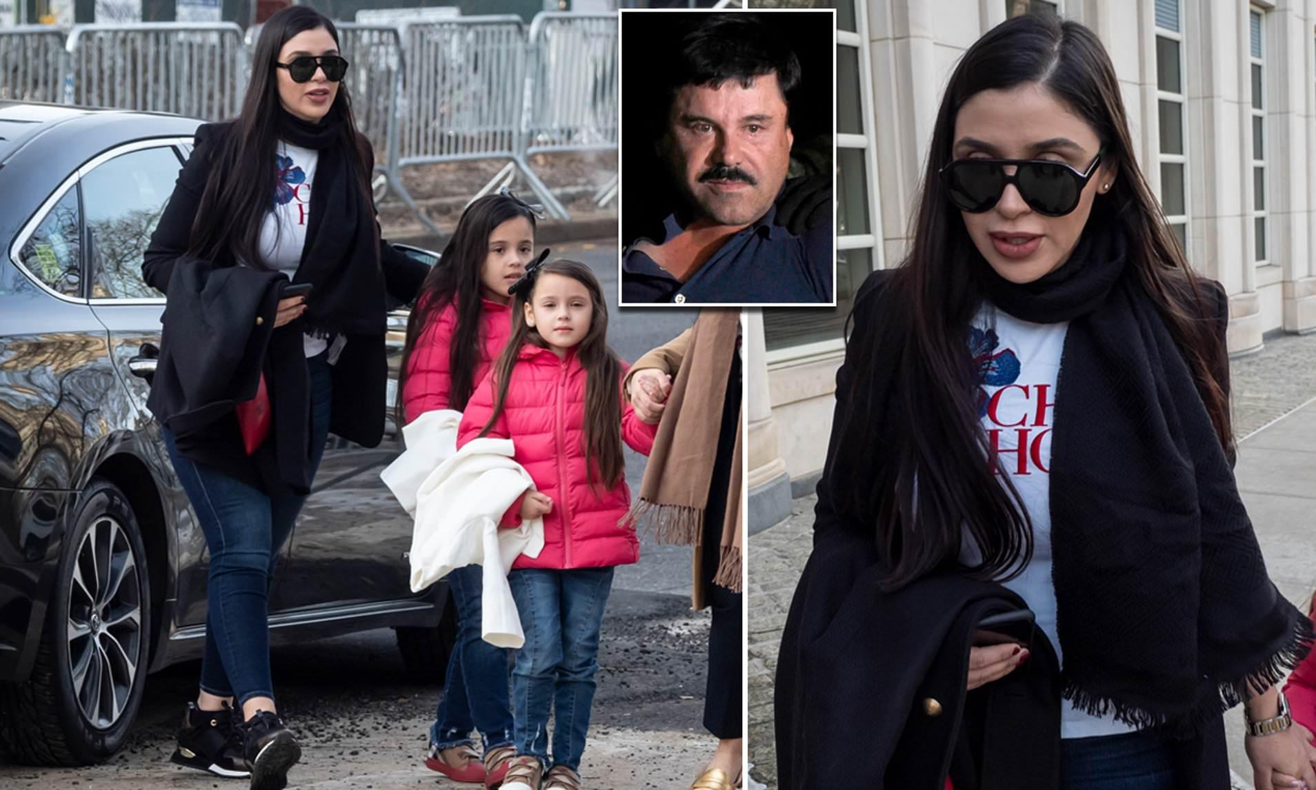 همسر ال چاپو دستگیر شد