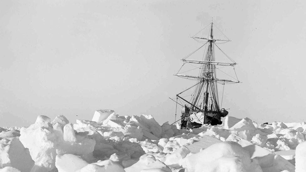 کشتی شکلتون اپیزود جنوبگان پادکست چنل بی